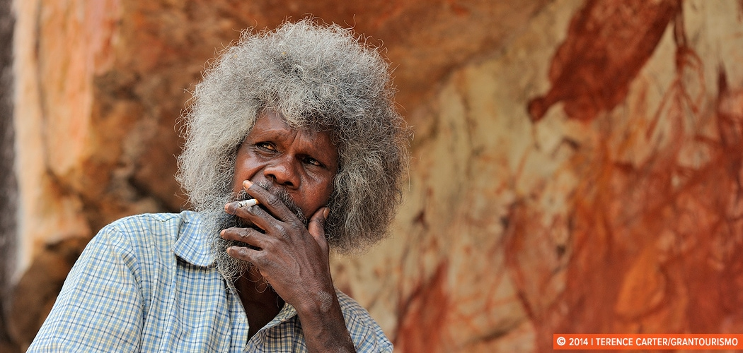 Aboriginal Artist and Guide, Northern Territory, Australia. Copyright 2014 Terence Carter / Grantourismo. All Rights Reserved. best australian indigenous travel experiences