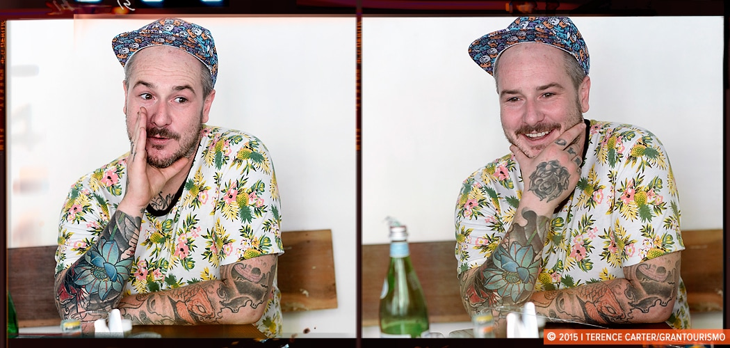 Chef Jess Barnes, Opposite Mess Hall, Bangkok, Thailand. Copyright 2015 Terence Carter / Grantourismo. All Rights Reserved.