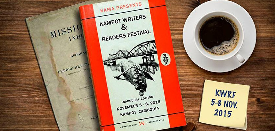 Kampot Writers and Readers Festival, Cambodia, 2015.