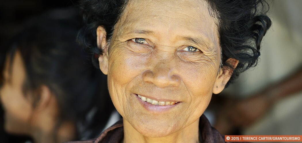 Village woman, Siem Reap, Cambodia.