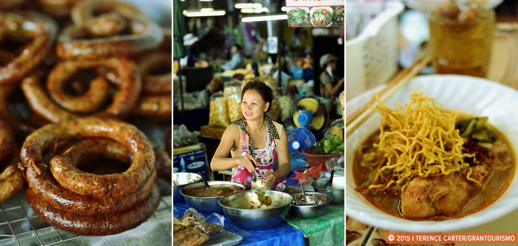Chiang Mai Food Tour, Chiang Mai, Thailand. Copyright 2015 Terence Carter / Grantourismo. All Rights Reserved. A Chiang Mai Street Food Tour.