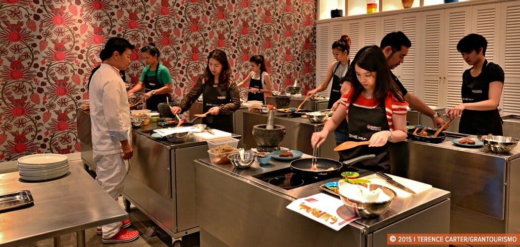 Issaya Cooking Studio, Bangkok, Thailand.