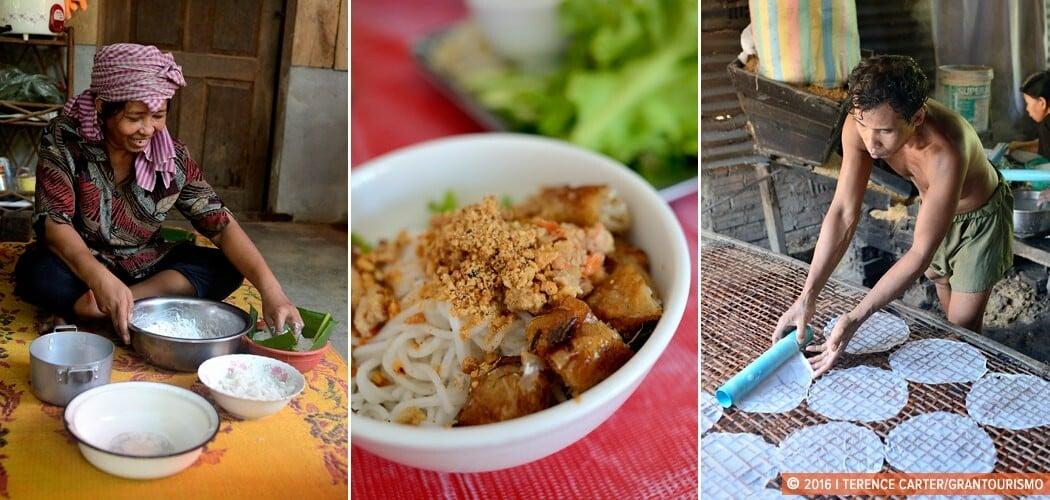 Food culture in Battambang, Cambodia.