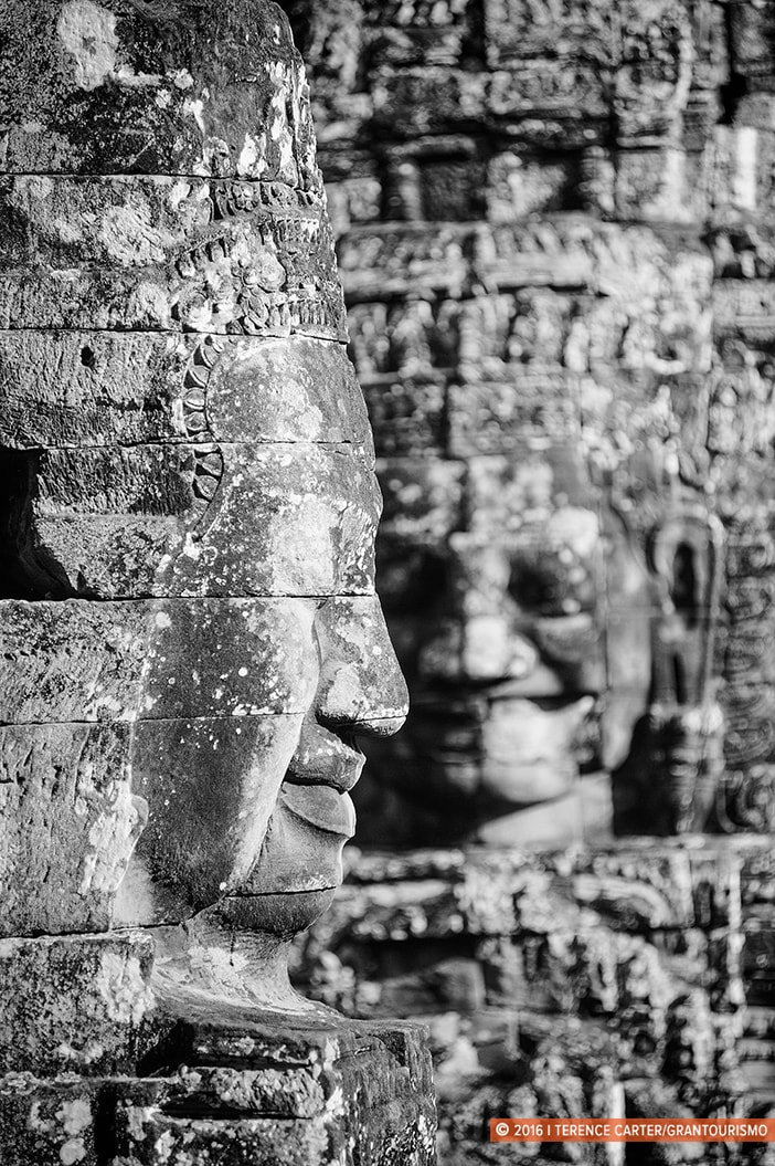 Bayon Temple. Angkor Archaeological Park, Siem Reap, Cambodia. Copyright 2016 Terence Carter / Grantourismo. All Rights Reserved. Best Photography Equipment for the Angkor Wat Temples.