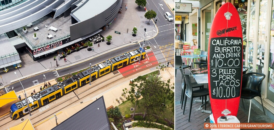 Gold Coast light rail. G:link