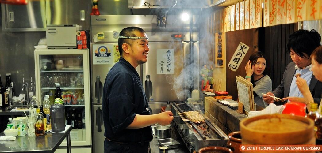 Nippon Saisei Sakaba (Japan Reborn Bar), Tokyo, Japan. Copyright 2015 Terence Carter / Grantourismo. All Rights Reserved.