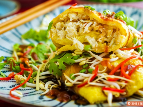 Crab Omelette Recipe Weekend Eggs Asian Dishes