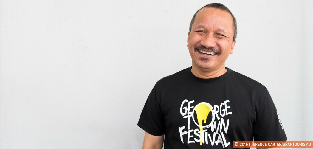 Joe Sidek, director of the George Town Festival, George Town, Pe
