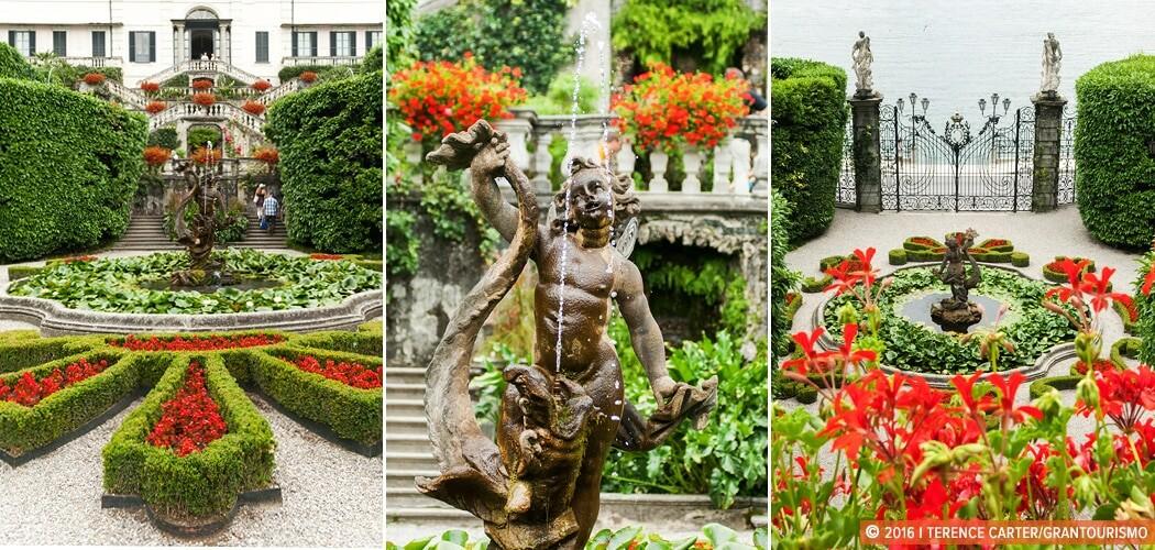 Villa Carlotta, Tremezzo, Lake Como, Lombardy, Italy.