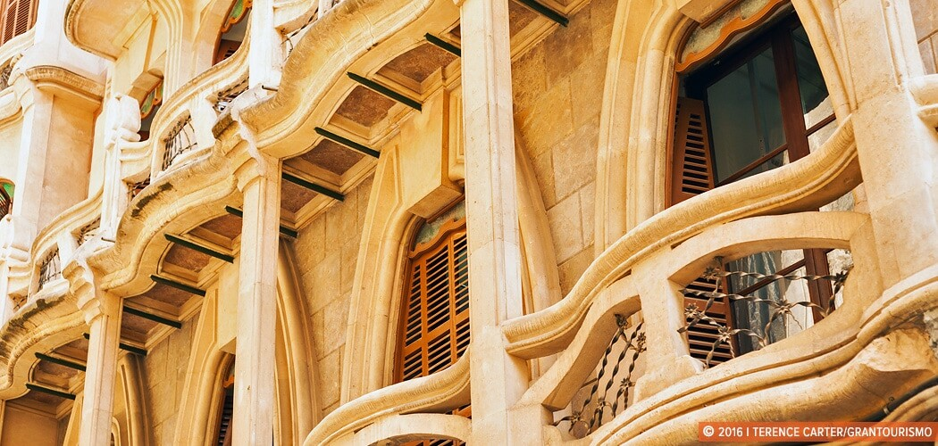 Can Casasayas – a modernist mansion in Mallorca, Spain.