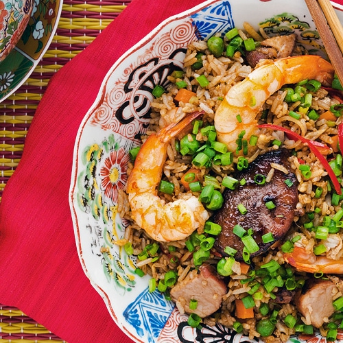 Chinese Special Fried Rice Recipe. Copyright 2016 Terence Carter / Grantourismo. All Rights Reserved.