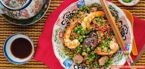 Chinese Special Fried Rice Recipe, a Fantastic Filling One Pot Meal