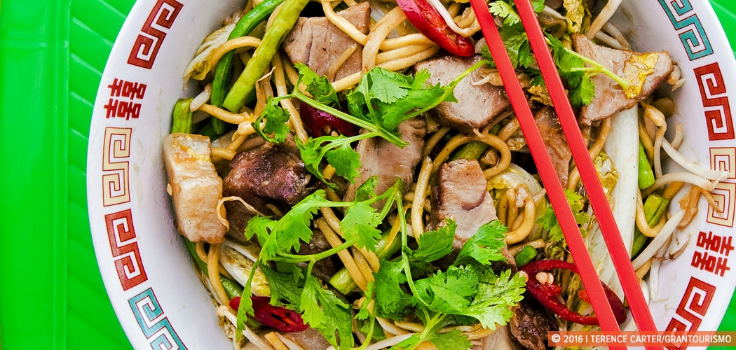 Hokkien Noodles Recipe With Chinese Barbecue Pork. Copyright 2016 Terence Carter / Grantourismo. All Rights Reserved.