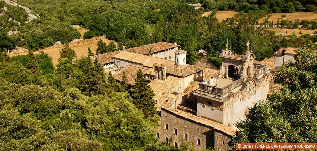Lluc Monastery, Lluc, Mallorca, Spain. Traditional Mallorcan Crafts, Mallorca, Spain. Copyright 2016 Terence Carter / Grantourismo. All Rights Reserved. Mallorcan Monasteries and Mountaintop Retreats.