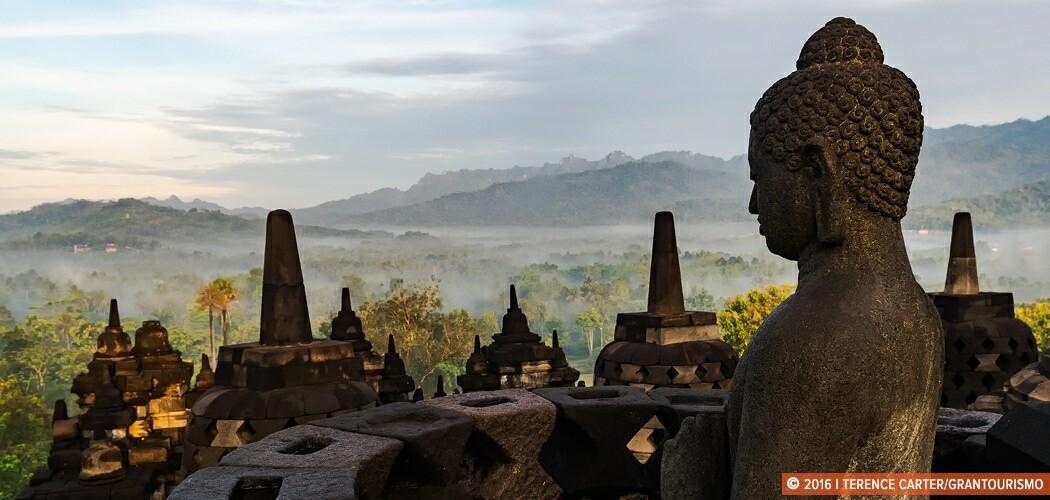 Borobudur, Yogyakarta, Indonesia.