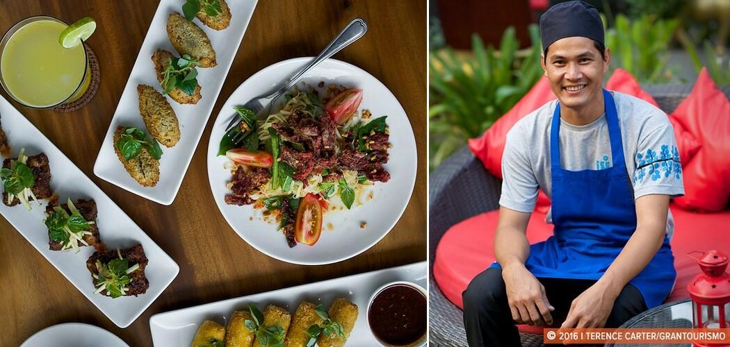 Chef Saren, Toun Saren, Marum Restaurant, Siem Reap, Cambodia.
