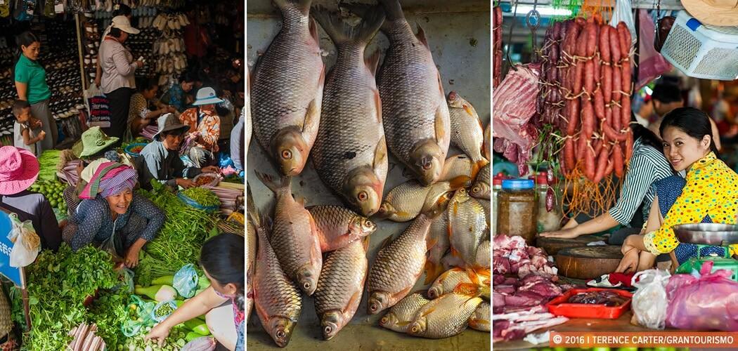Old Market, Siem Reap, Cambodia.