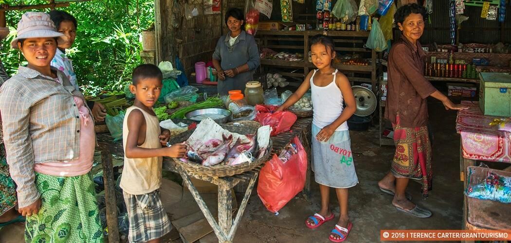 Siem Reap village scene, Siem Reap, Cambodia.