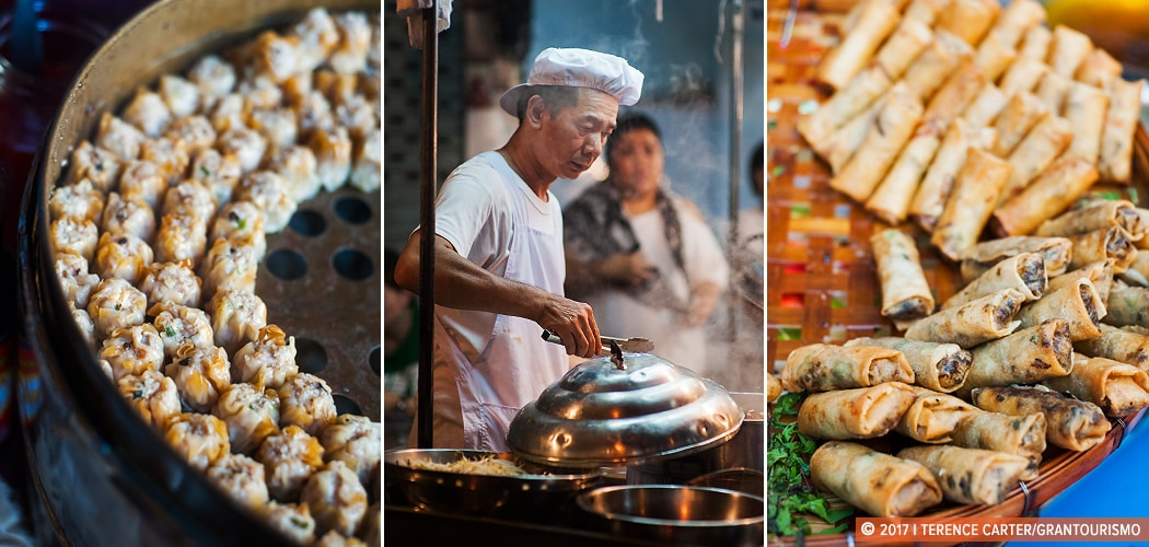 Bangkok street food, Chinatown, Bangkok, Thailand. Copyright 2017 Terence Carter / Grantourismo. All Rights Reserved. bangkok street food dishes