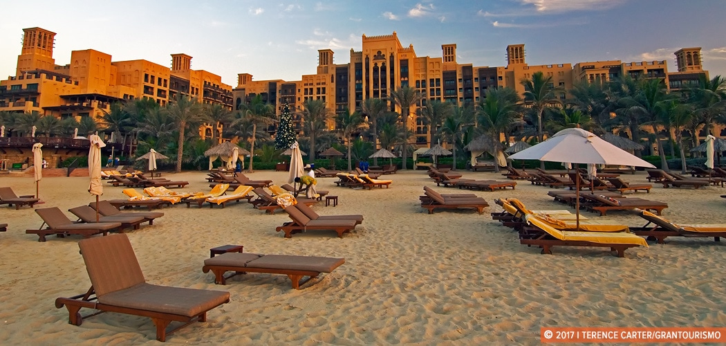 Best Dubai beach resorts. Jumeirah Mina A'Salam - Madinat Jumeirah, Dubai, UAE. Copyright 2017 Terence Carter / Grantourismo. All Rights Reserved. Best Dubai Beach Resorts