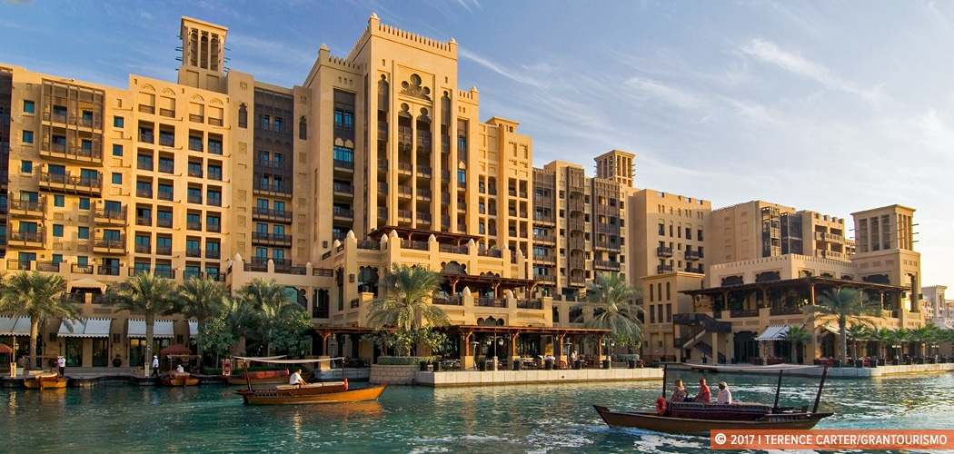 Jumeirah Mina A'Salam - Madinat Jumeirah, Dubai, UAE. Copyright 2017 Terence Carter / Grantourismo. All Rights Reserved. where to stay in dubai in winter
