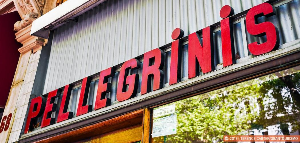 Melbourne cafe culture walk. Pelligrini's, Melbourne, Victoria. Copyright 2017 Terence Carter / Grantourismo. All Rights Reserved. Melbourne cafe culture walk.