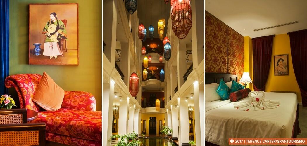 Shanghai Mansion, Chinatown, Bangkok, Thailand.