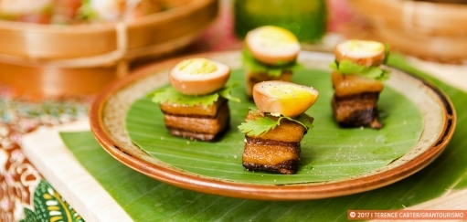Sweet Pork Belly with Boiled Eggs Recipe, Siem Reap, Cambodia. Copyright 2017 Terence Carter / Grantourismo. All Rights Reserved.