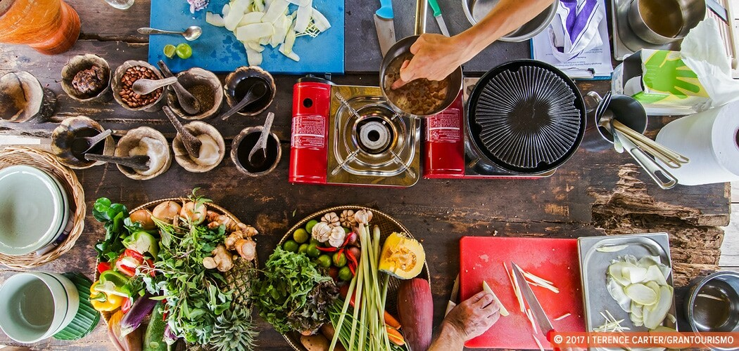 Cooking class in Siem Reap, Cambodia.