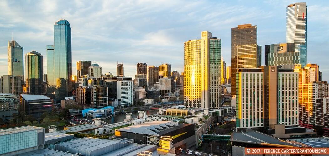 City skyline, Melbourne, Victoria, Australia.
