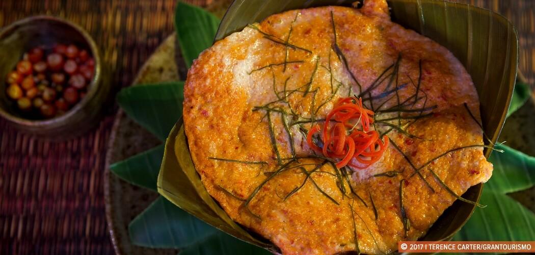 Fish Amok Recipe, Siem Reap, Cambodia.