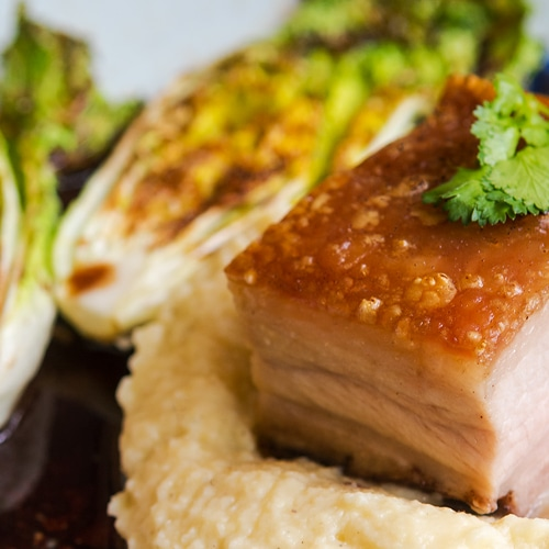 Pork Recipes for the Year of the Pig – One Delicious Pork Dish a Month. Five-Spice Crispy Pork Belly Recipe. Copyright 2017 Terence Carter / Grantourismo. All Rights Reserved. five spice crispy pork belly recipe