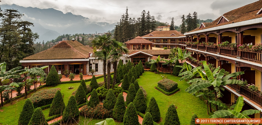 Victoria Sapa Resort and Spa, Sapa, Vietnam. Copyright 2017 Terence Carter / Grantourismo. All Rights Reserved. Where to Stay in Sapa.
