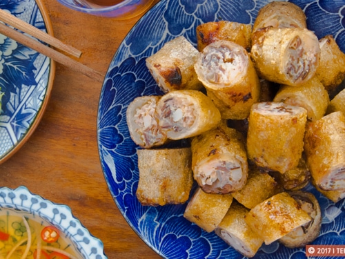 Vietnamese Deep Fried Spring Rolls Recipe Nem Ran Recipe