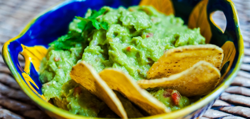 Authentic Mexican Guacamole Recipe. Copyright 2017 Terence Carter / Grantourismo. All Rights Reserved.
