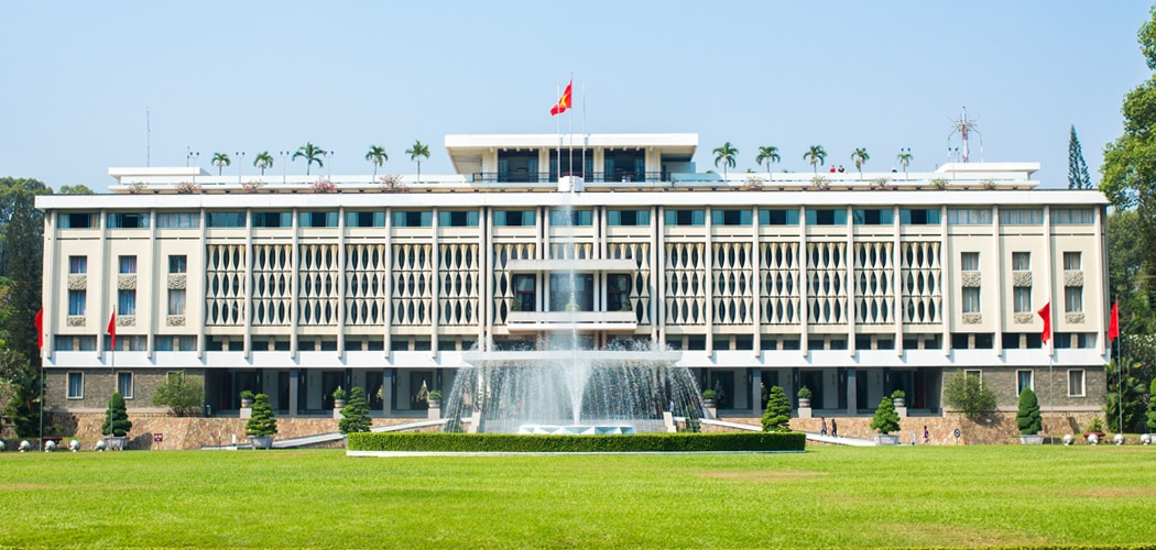 best saigon museums. Independence Palace (Dinh Độc Lập), also known as Reunification Palace. Copyright © 2017 Terence Carter / Grantourismo. All Rights Reserved. Best Saigon Museums (Ho Chi Minh City), Vietnam