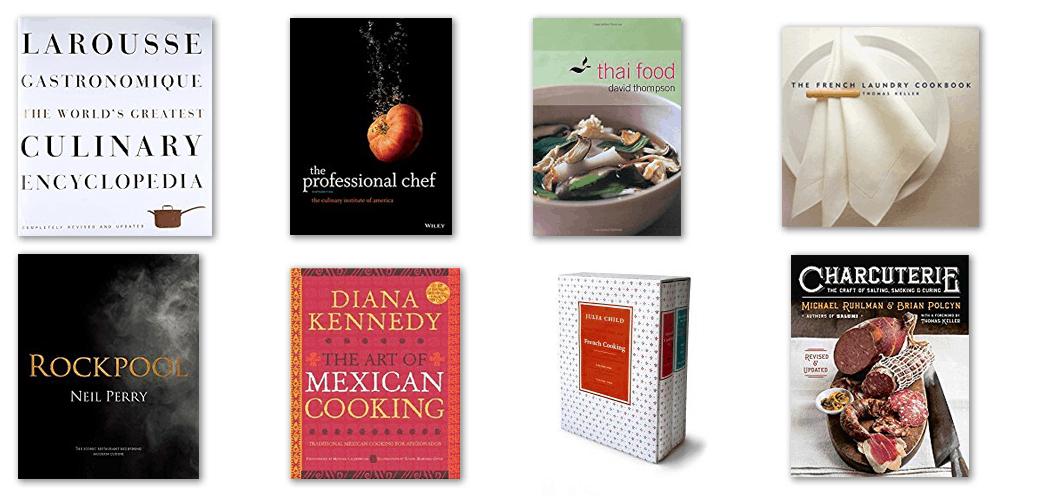 classic cookbooks for serious cooks.