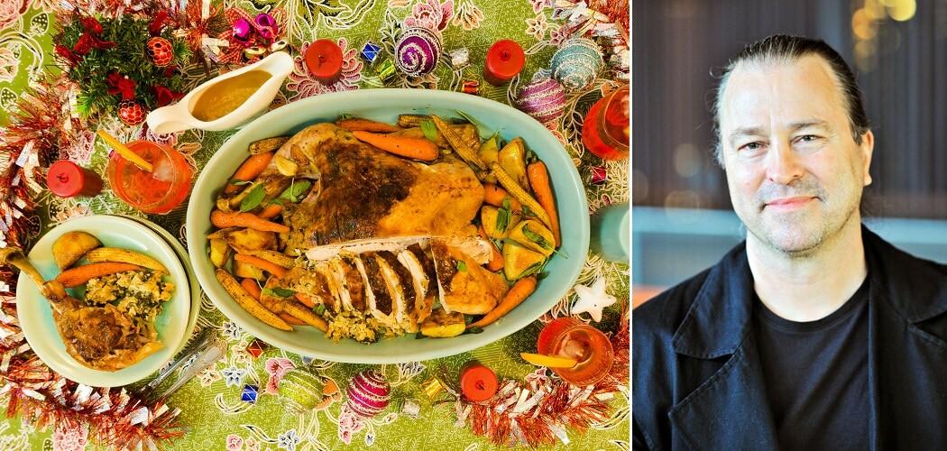 Butterflied Roast Turkey with Stuffing Recipe from Chef Neil Per