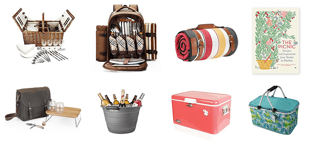Christmas Gifts for Picnic Lovers – from Picnic Baskets to Picnic Recipe Books