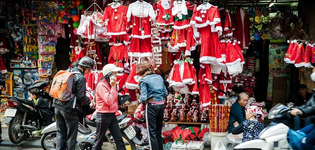 Christmas in Hanoi, Vietnam
