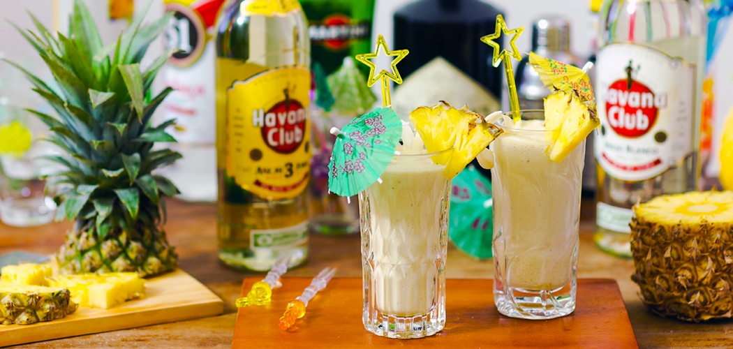 Classic Pina Colada recipe. Copyright © 2017 Terence Carter / Grantourismo. All Rights Reserved.