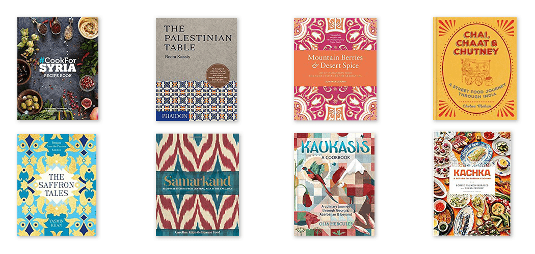 Cookbooks for Culinary Travellers - The Middle East to Eastern Europe.