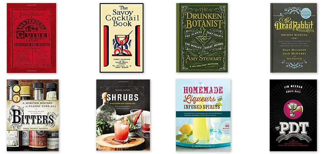 Essential Books for Cocktail Enthusiasts. Copyright © 2017 Terence Carter / Grantourismo. All Rights Reserved.