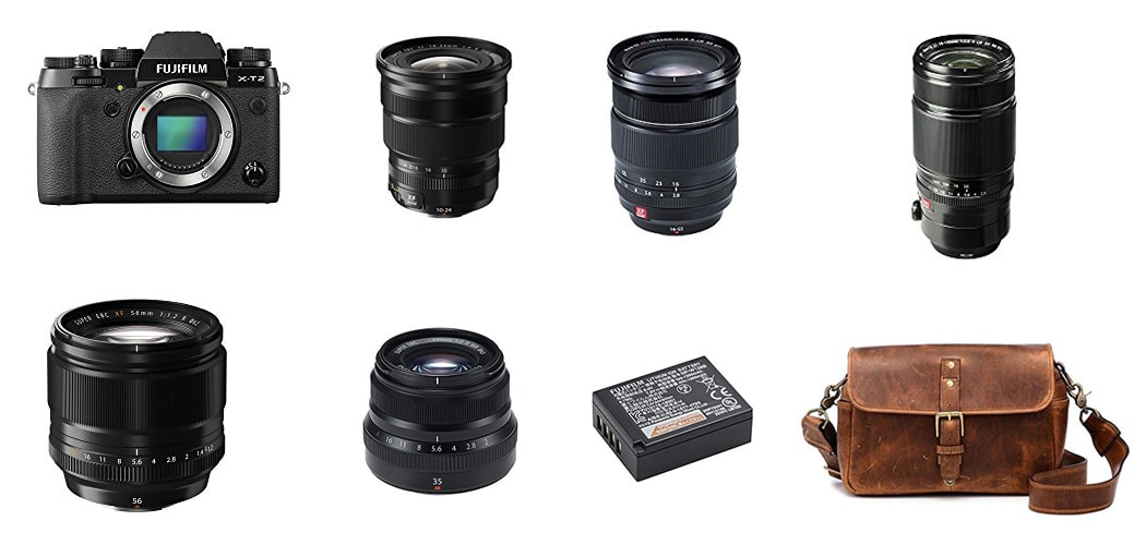 Best Fujifilm cameras and lenses for travel and food photography