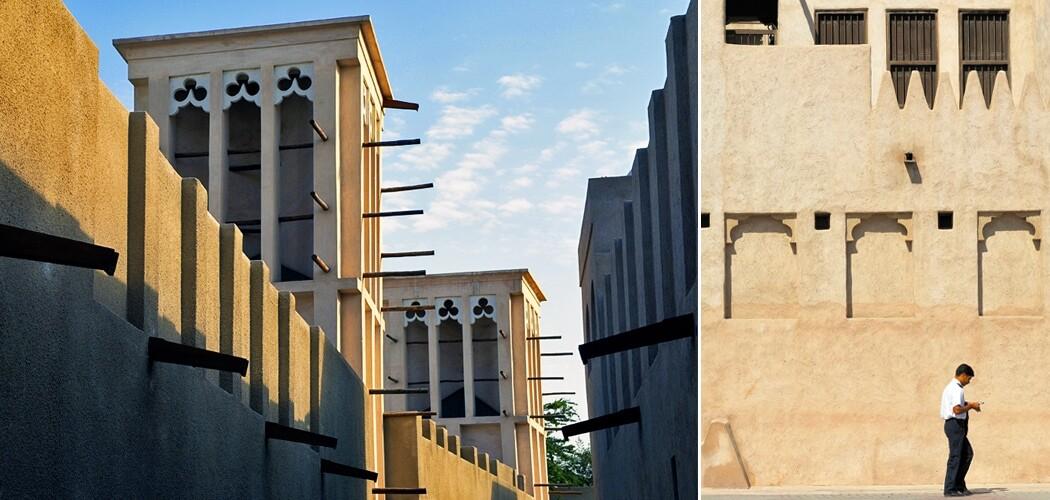 Old Dubai architecture, Dubai, UAE