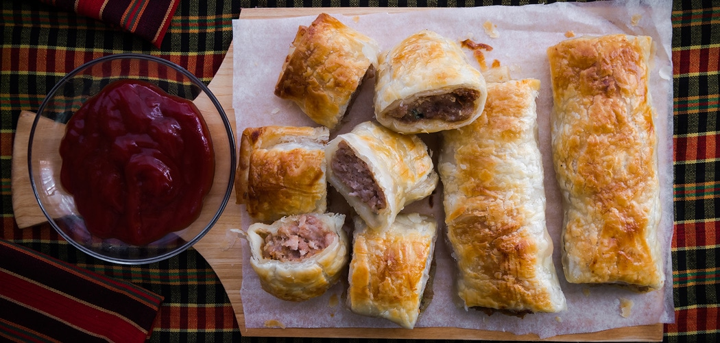 Sausage Roll Recipe. By Terence Carter adapted from the recipe by Jane Lawson in her book, Milkbar Memories. Copyright © 2017 Terence Carter / Grantourismo. All Rights Reserved.