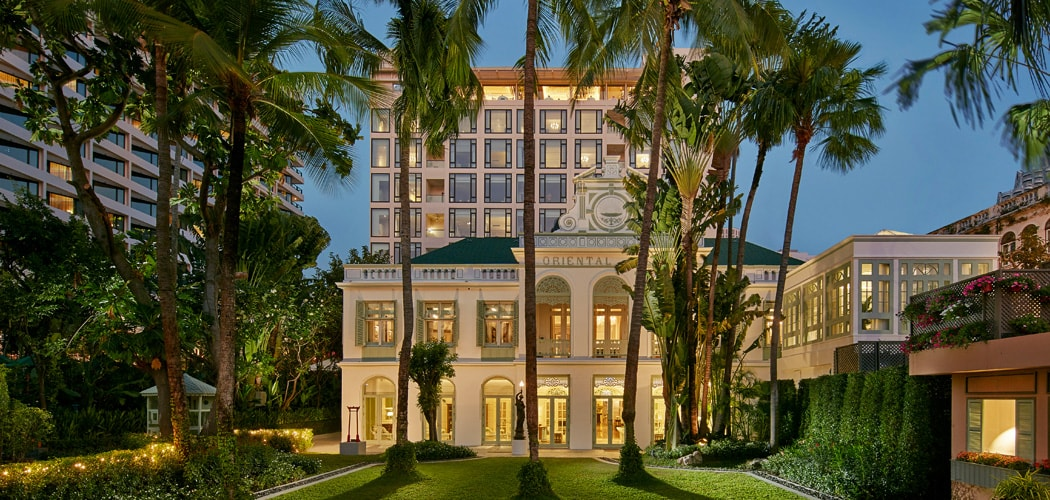 Best Bangkok Riverside Hotels. Mandarin Oriental Bangkok, Author's Wing. Best Bangkok Luxury Hotels.