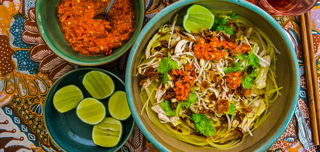 Soto Ayam Recipe –Indonesian Chicken Noodle Soup. Copyright © 2018 Terence Carter / Grantourismo. All Rights Reserved.