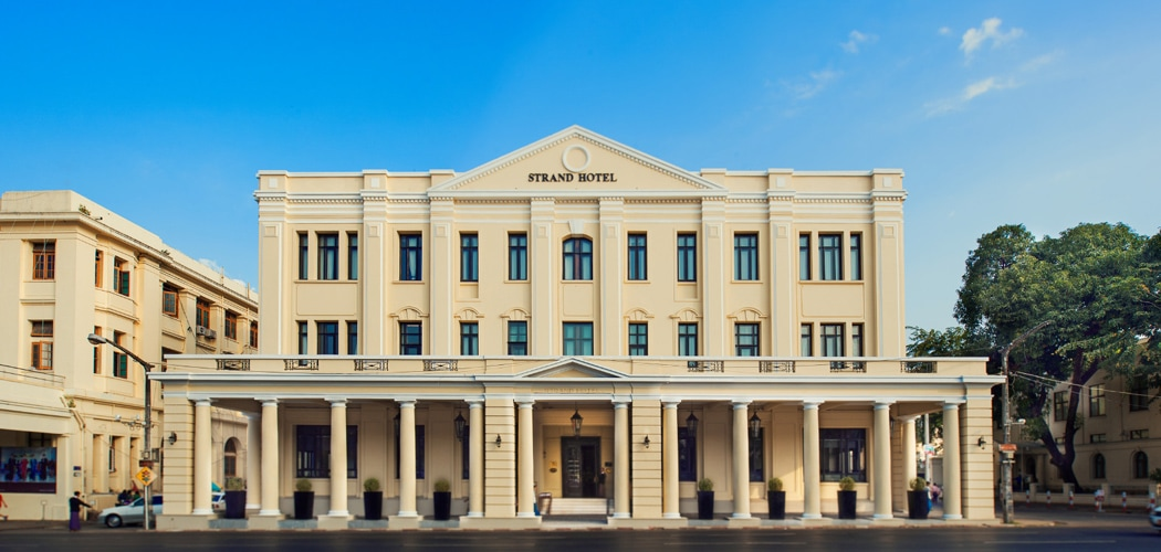 Strand Hotel, Yangon, Myanmar. Best Yangon Hotels.