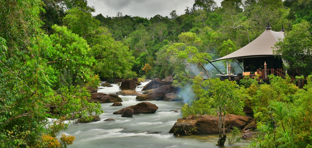 Shinta Mani Wild, Cambodia. Where to Stay for Wildlife Watching in Cambodia.